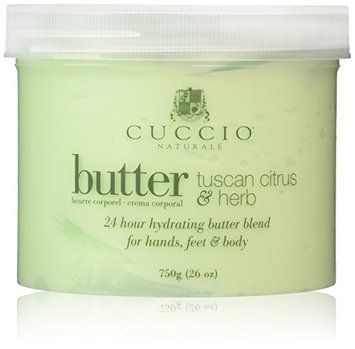 Cuccio Tuscan Citrus and Herb Butter Blend Hydrating Treatment for Hands
