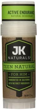 JK Naturals Natural Deodorant Teen Natural for Him