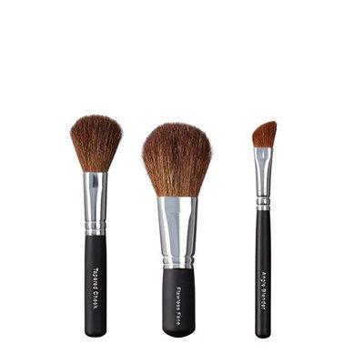 VEGAN LOVE Tapered Cheek Flawless Face Angle Blender Brush Trio