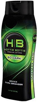 Hottie Bottie SO DARK 80XXX Dark Silicone Bronzer Indoor Tanning Lotion