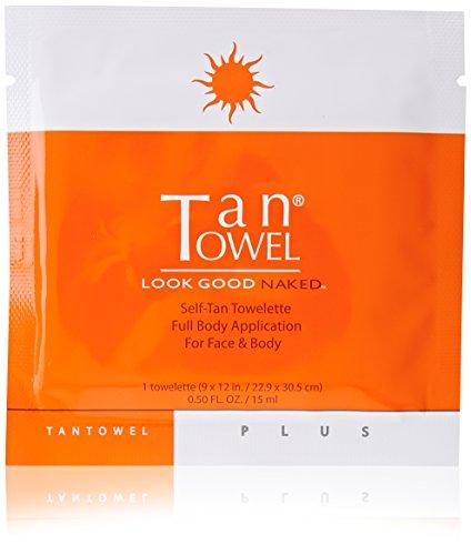 Tan Towel Self Tanning Towelette Full Body Moisturizer