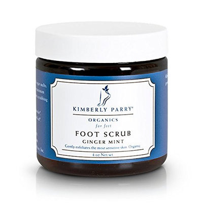 Kimberly Parry Organics Ginger Mint Foot Scrub