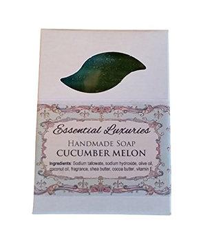 Cucumber Melon Soap - Exfoliating - Poppy Seed