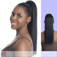 PB183-V (Vivica A. Fox) - Futura Fiber Ponytail in 4 DARK BROWN