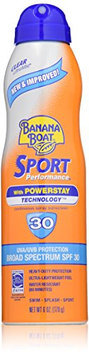 Banana Boat Sunscreen Ultra Mist Sport Performance Broad Spectrum Sun Care Sunscreen Spray - SPF 30
