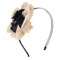 Uxcell Stamen Flower Detail Polyester Coated Metal Hair Hoop