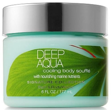Bath & Body Works Signature Collection DEEP AQUA Cooling Body Souffle