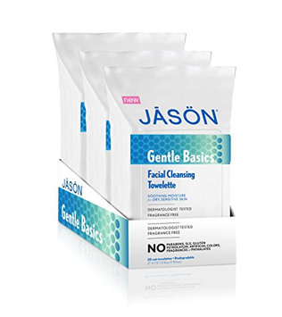 Jason Gentle Basics Facial Cleansing Towelettes