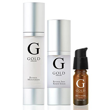 Gold Serums Retinol Trio Kit
