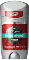 Old Spice Red Zone Collection Invisible Solid Pure Sport Scent Men's Anti-Perspirant & Deodorant 2.6 Oz (Pack of 6)