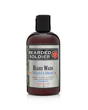 Bearded Soldier Beard Wash Private's Blend