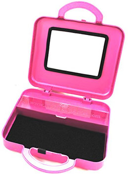 My Pick Up Artist Sport Case - Compact Portable Beauty & Make-Up Organizer for Travel - Holds Up to 10 Pieces - Monaco Pink