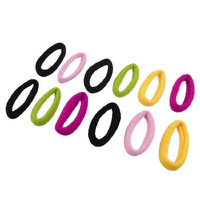 Uxcell 12 Piece Elastic Band Hair Tie Ponytail Holder