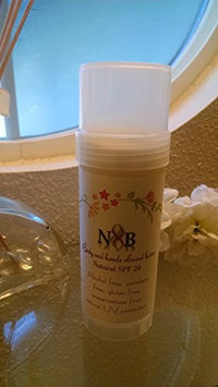 N&B 100% Natural body and hands almond butter