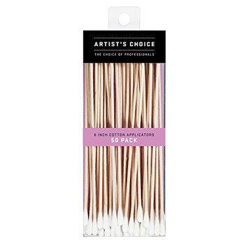 Artist's Choice Long Cotton Applicator Sticks