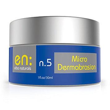 Elba n.5 - Microdermabrasion - Best Natural Facial Exfoliator & Moisturizer Cream