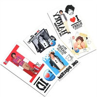 Tempt Tattous One Direction Waterbased Temporary Tattoo