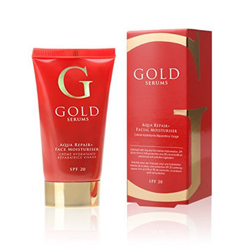 Gold Serums SPF 20 Aqua Repair Plus Facial Moisturizer
