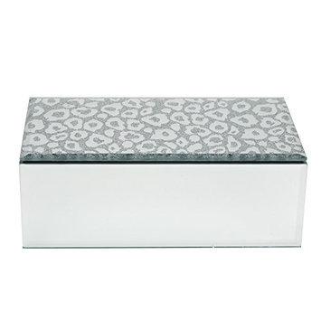Danielle Leopard Mirrored Jewelry Box