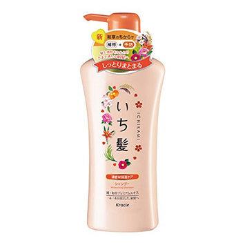 KRACIE Ichikami Moisturizing Shampoo Pump