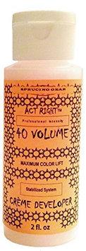 Act Right Volume Maximum Lightening Color Lift Hair Developer/Sneaker De-Color