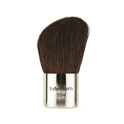 Bdellium Tools Travel Line Yellow Slanted Kabuki Brush