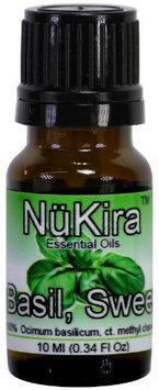 NuKira Basil Sweet Pure Essential Oil