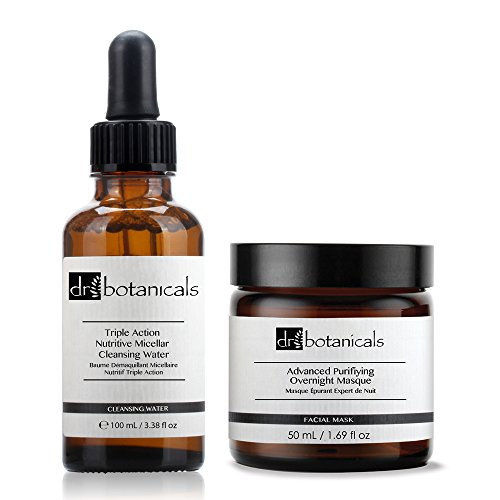 Dr Botanicals Advanced Anti-Oxidant Superfood Facial Oil and Ultra-Repair Overnight Regenerating Treatment
