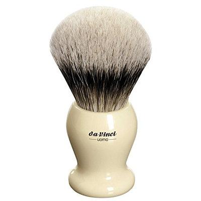 Da Vinci Series 291 Uomo Shaving Brush Silvertip Badger Ivory Color Handle
