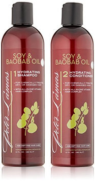 Peter Lamas Soy & Baobab Oil Hydrating Shampoo and Conditioner Set