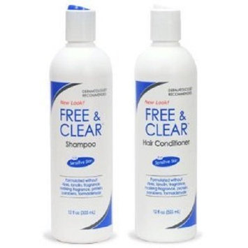 Pharmaceutical Specialties Free and Clear Shampoo and Conditioner Set