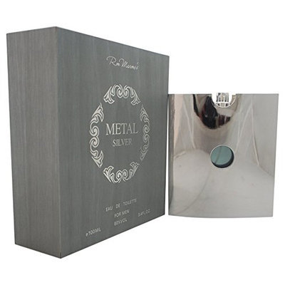 Metal Silver Men Eau De Toilette Spray