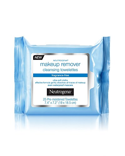 Neutrogena Cleansing Towelettes Fragrance-Free Makeup Remover