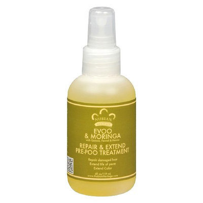 Nubian Heritage Extra Virgin Olive Oil and Moringa Pre-Poo Serum