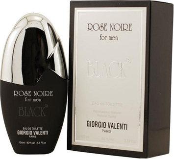 Rose Noire Black by Giorgio Valenti For Men. Eau De Toilette Spray 3.3-Ounces