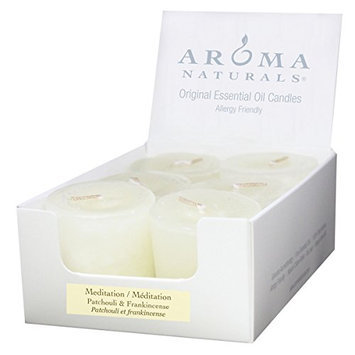 Aroma Naturals Votive Candles with White