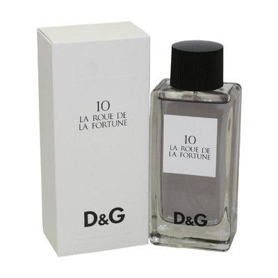 D & G 10 La Roue De La Fortune By Dolce & Gabbana For Women Edt Spray 3.3 Oz