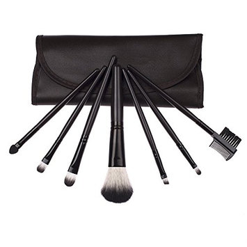 Bliss & Grace 7 Piece Travel Make-Up Brush Set