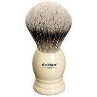 Da Vinci Series 298 Uomo Shaving Brush Silvertip Badger Hair Ringed Handle