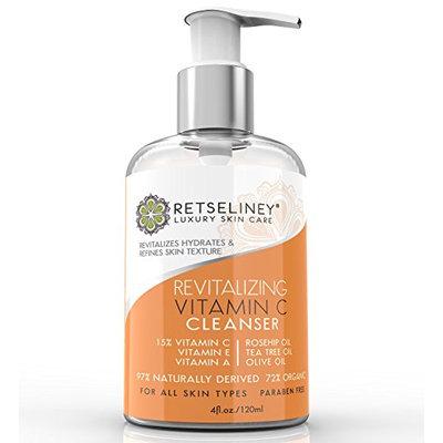 Retseliney Best Revitalizing Vitamin C Face Wash