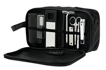 Danielle Dual Pocket Travel Set with Grooming Essentials