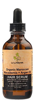 Organic Moroccan Hair Serum 2oz