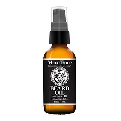 Mane Tame Professional Men's Grooming Beard Oil