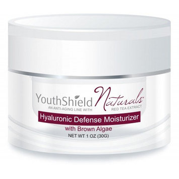 YouthShield Naturals Hyaluronic Defense Moisturizer with Brown Algae