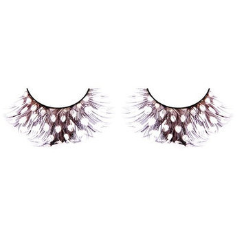 Baci Paradise Dreams Style No.607 Feather Eyelashes with Adhesive Included