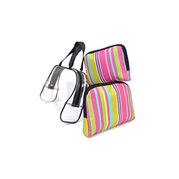 Argo Sport Candy Stripes Cosmetic Bags