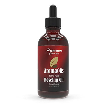 Rosehip Oil - 4 oz - 100 Percent Pure - Best for Skin and Facial Care - Reduces Wrinkles and Fine Lines - Anti-Aging