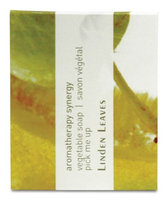 Linden Leaves Aromatherapy Synergy Pick Me Up Triple Milled Vegetable Soap