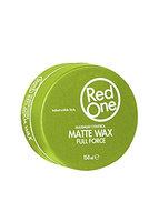 Matte Hair Wax Green - RedOne