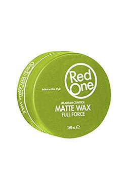 Matte Hair Wax Green - RedOne